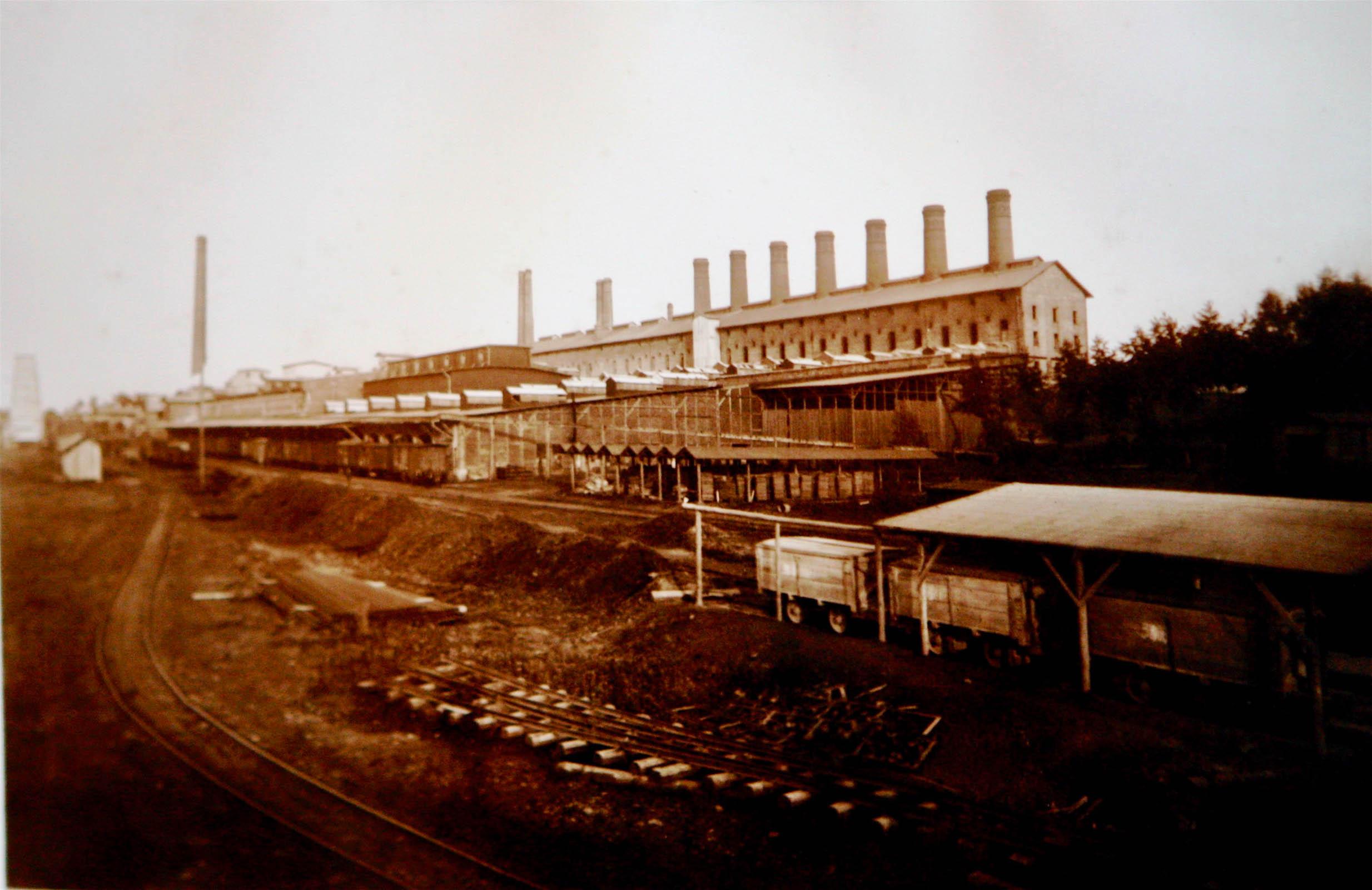 Goleszow cement factory pre 1939 2