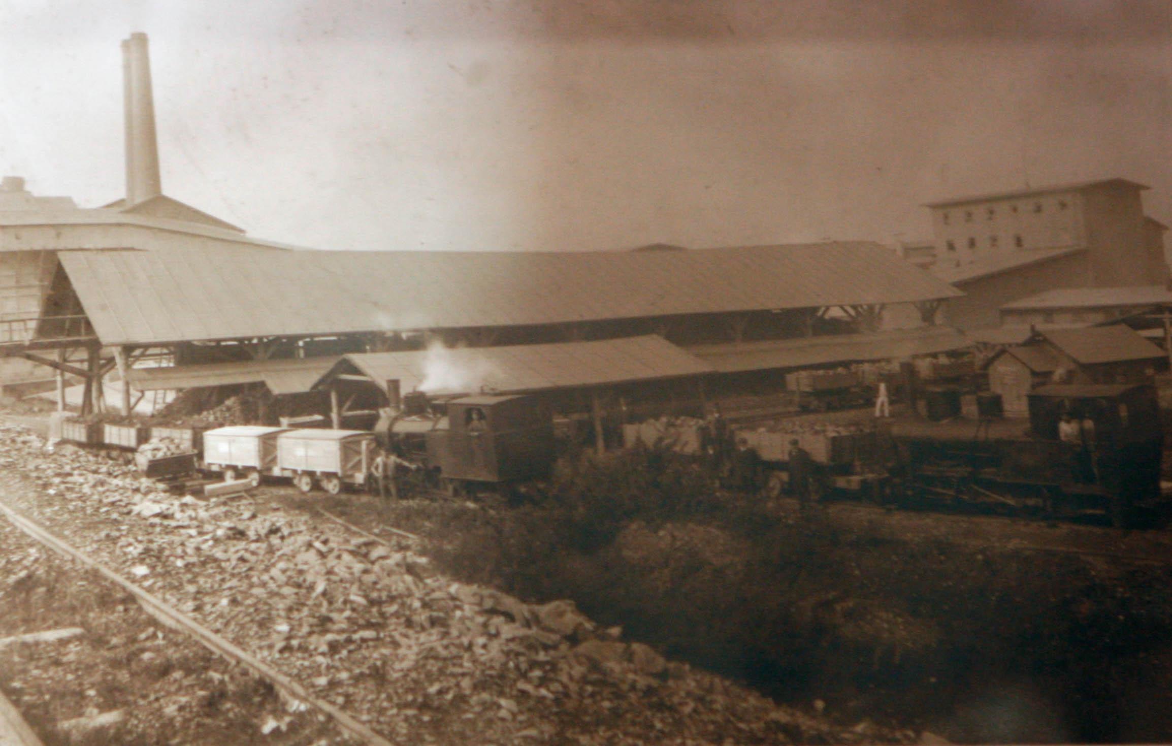 Goleszow cement factory pre 1939 3