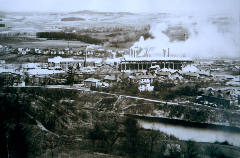 Goleszow cement factory pre 1939 5