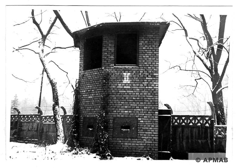 Guard tower No 2. 1969 APMAB 14767