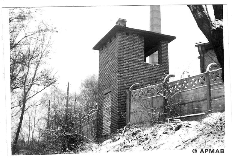 Guard tower No 3. 1969 APMAB 14772