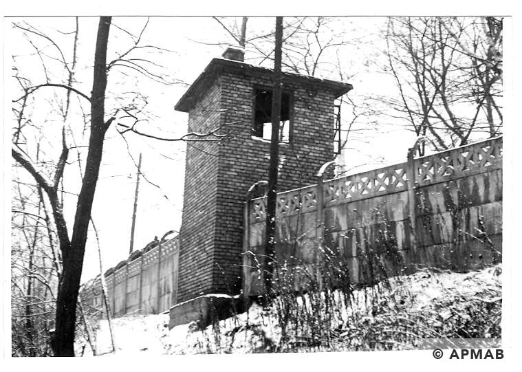 Guard tower No 5. 1969 APMAB 14777
