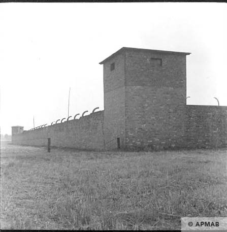 Guard tower from South East. 1963 APMAB 5693