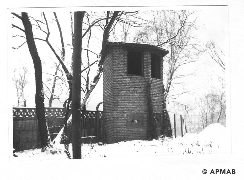 Guard tower. 1969 APMAB 14769