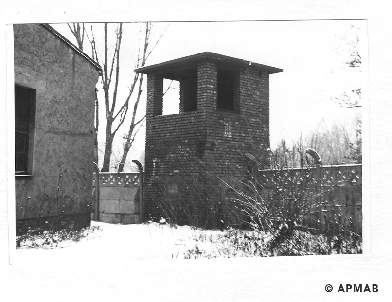 Guard tower. 1969 APMAB 14771