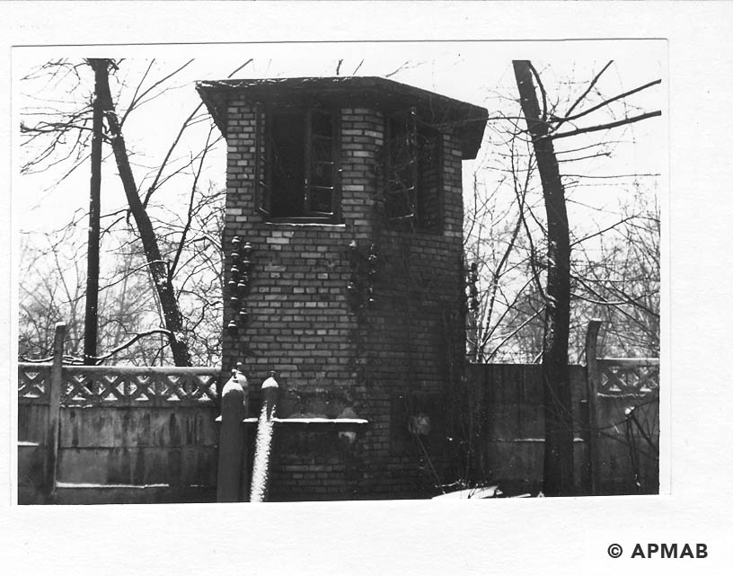 Guard tower. 1969 APMAB 14775