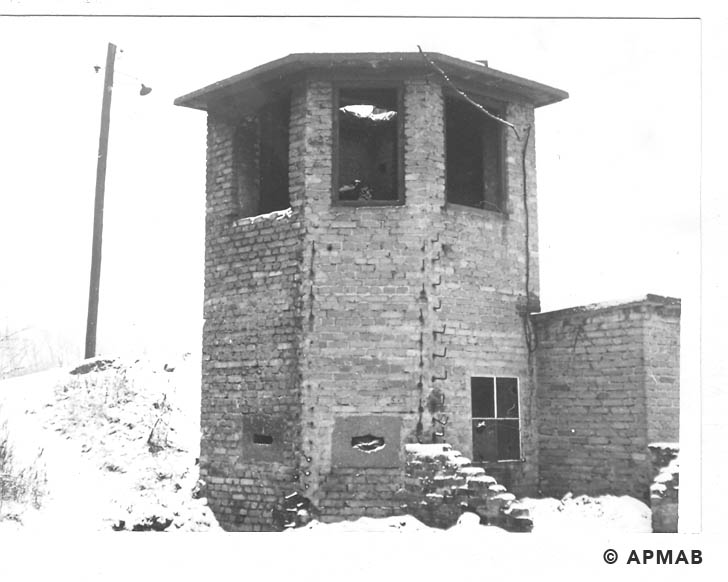 Guard tower. 1969 APMAB 14778