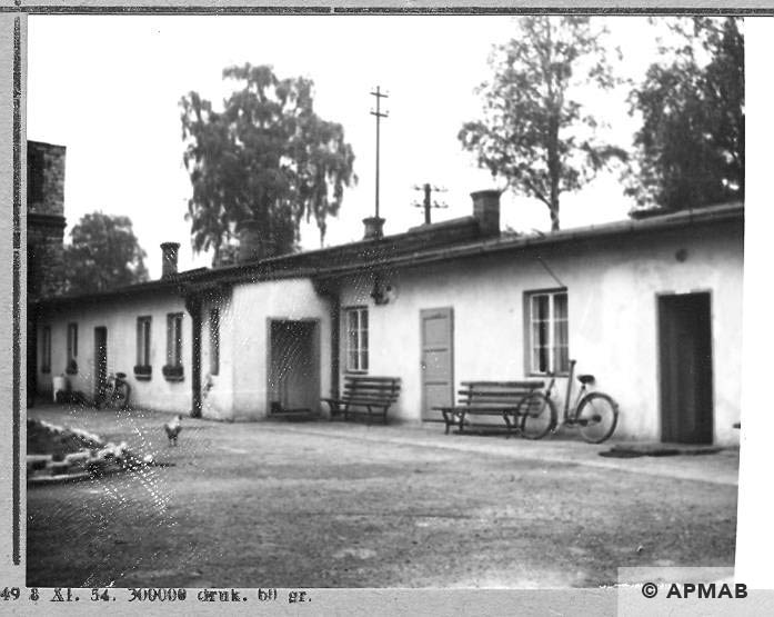 Guardhouse and accomodation for female prisoners. 1966 APMAB 10172
