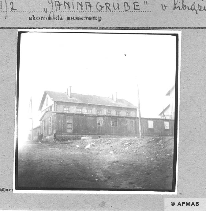 Guardhouse barrack and building for the SS men. 1959 APMAB 4391