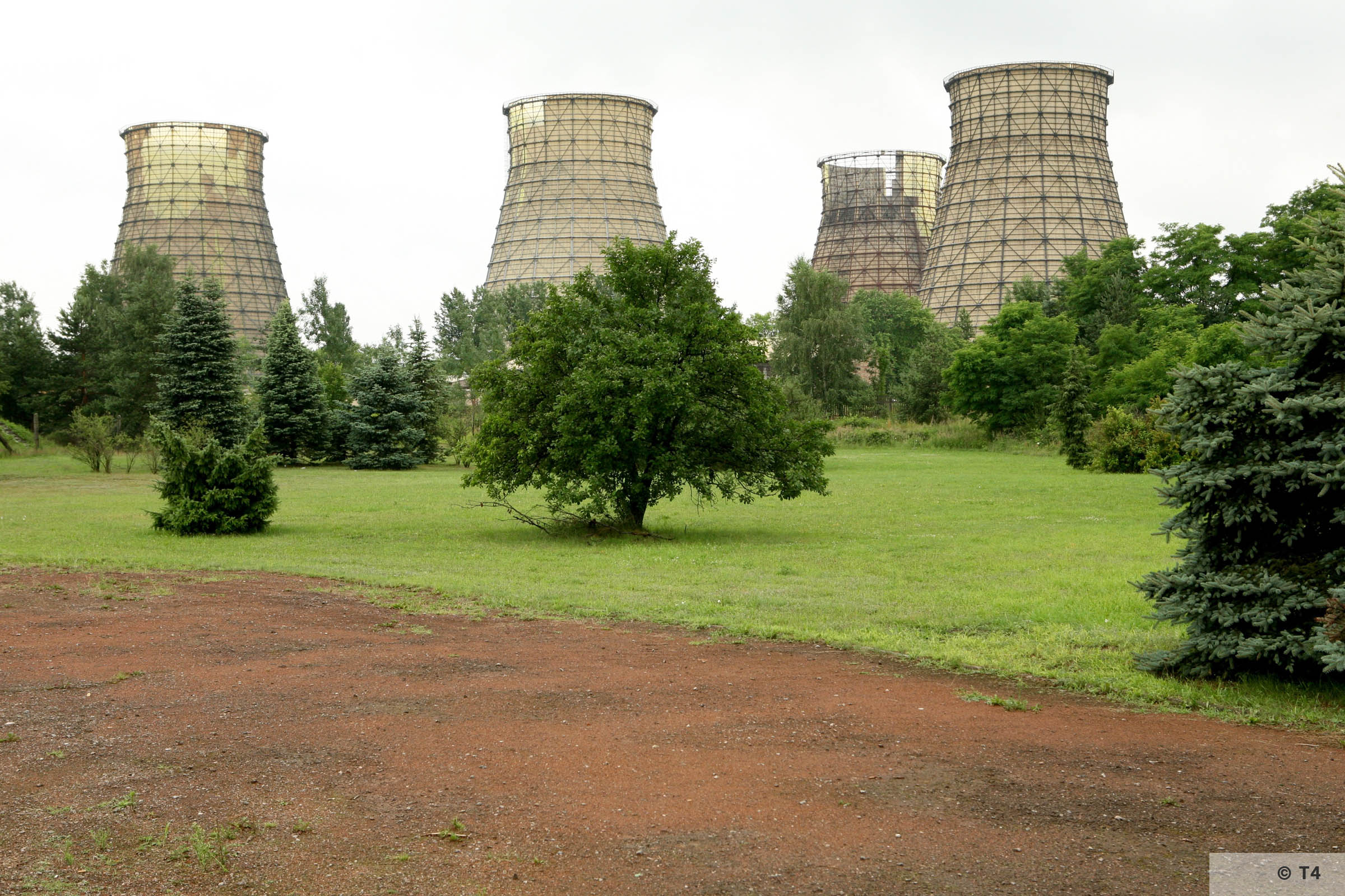 Halemba power plant from former sub camp. 2007 T4 9460