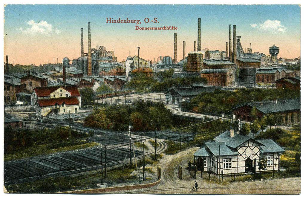 Hindenburg Donnersmarckhütte 1921. Andreas Dutkiwicz