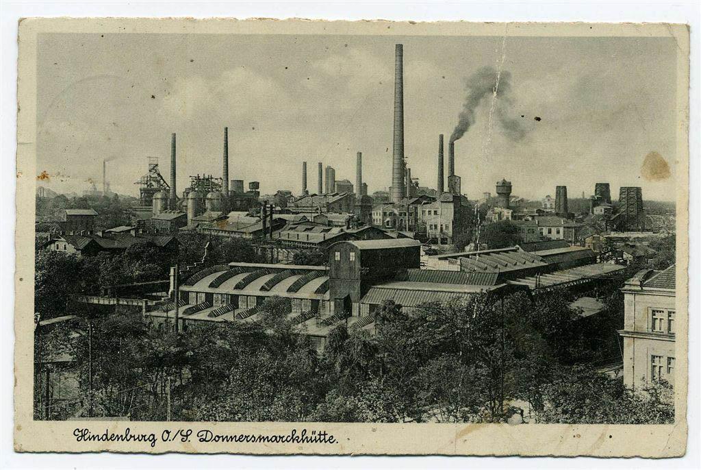 Hindenburg Donnersmarckhütte 1940. Andreas Dutkiwicz