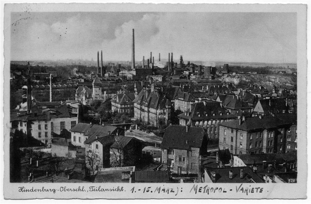 Hindenburg Donnersmarkhütte.1941 Andreas Dutkiwicz