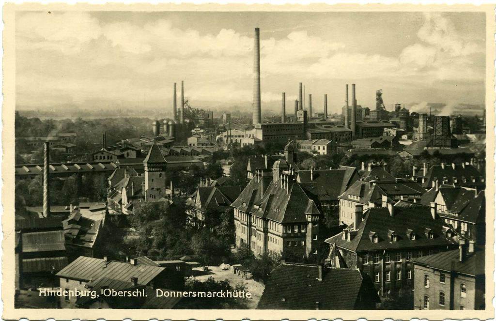 Hindenburg Oberschl. Donnersmarckhütte. Andreas Dutkiwicz