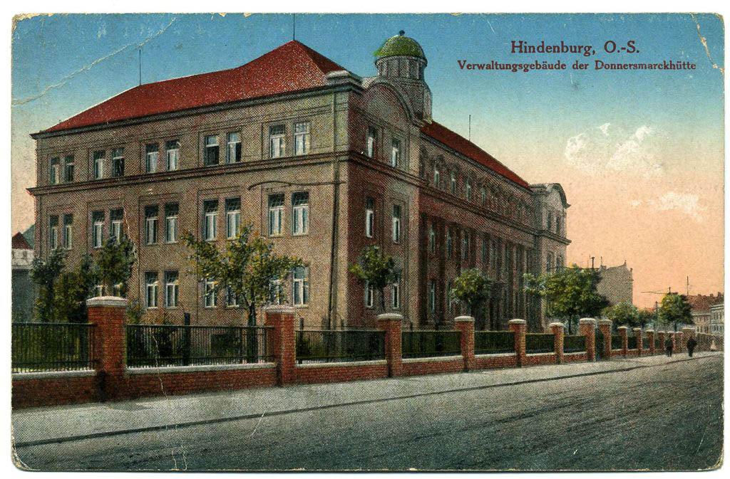 Hindenburg Verwaltungsgebaude. Donnersmarckhütte. Andreas Dutkiwicz