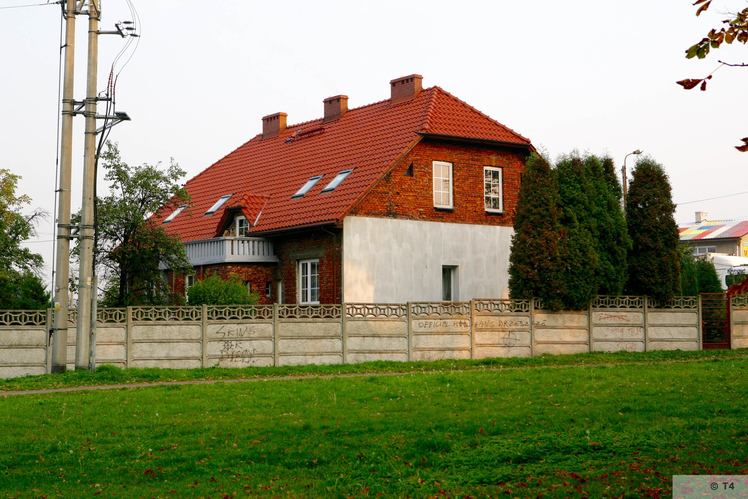 Houses near the area of the former sub camp Jawischowitz. 2007 T4 2193