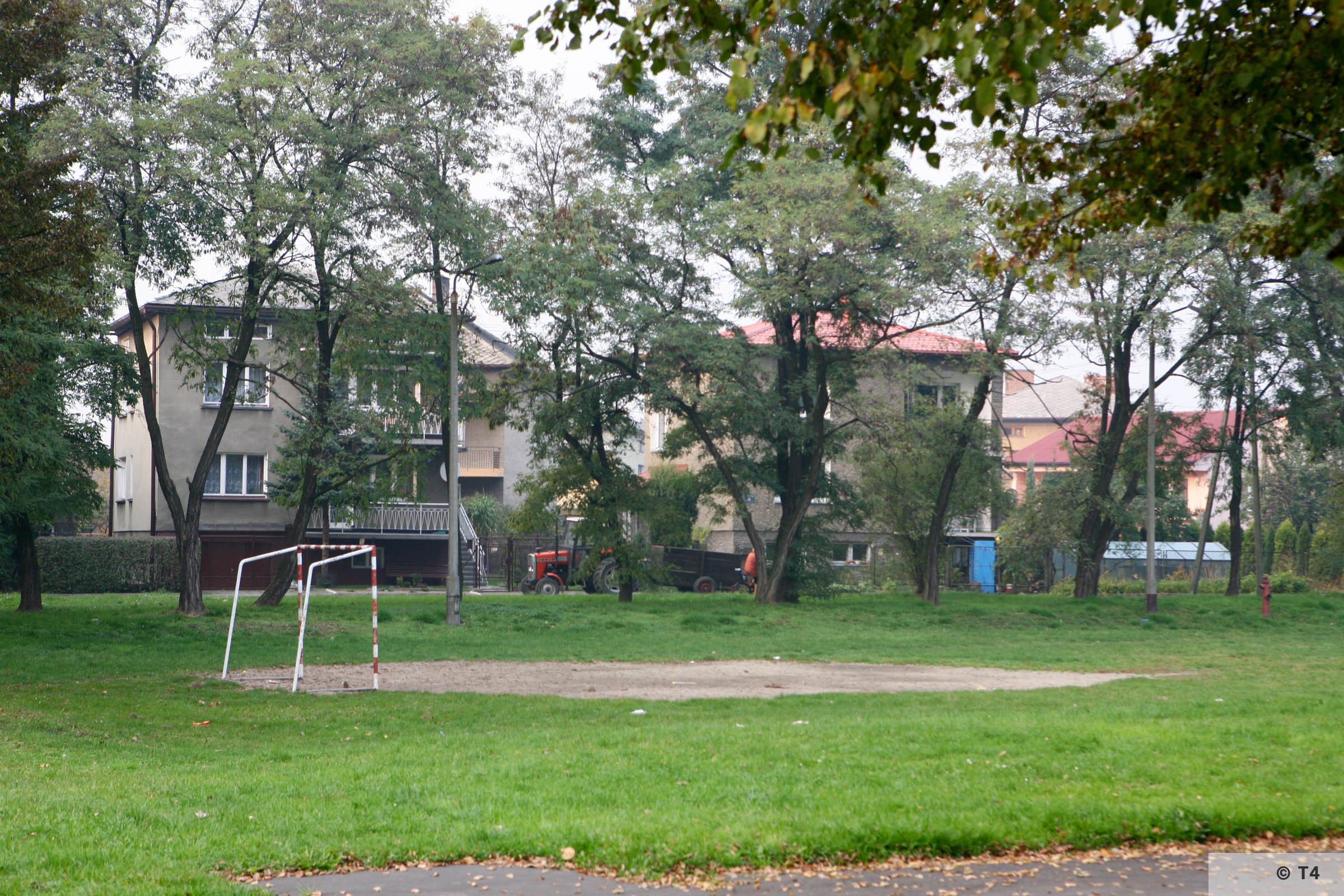 Houses near the area of the former sub camp Jawischowitz. 2007 T4 2223