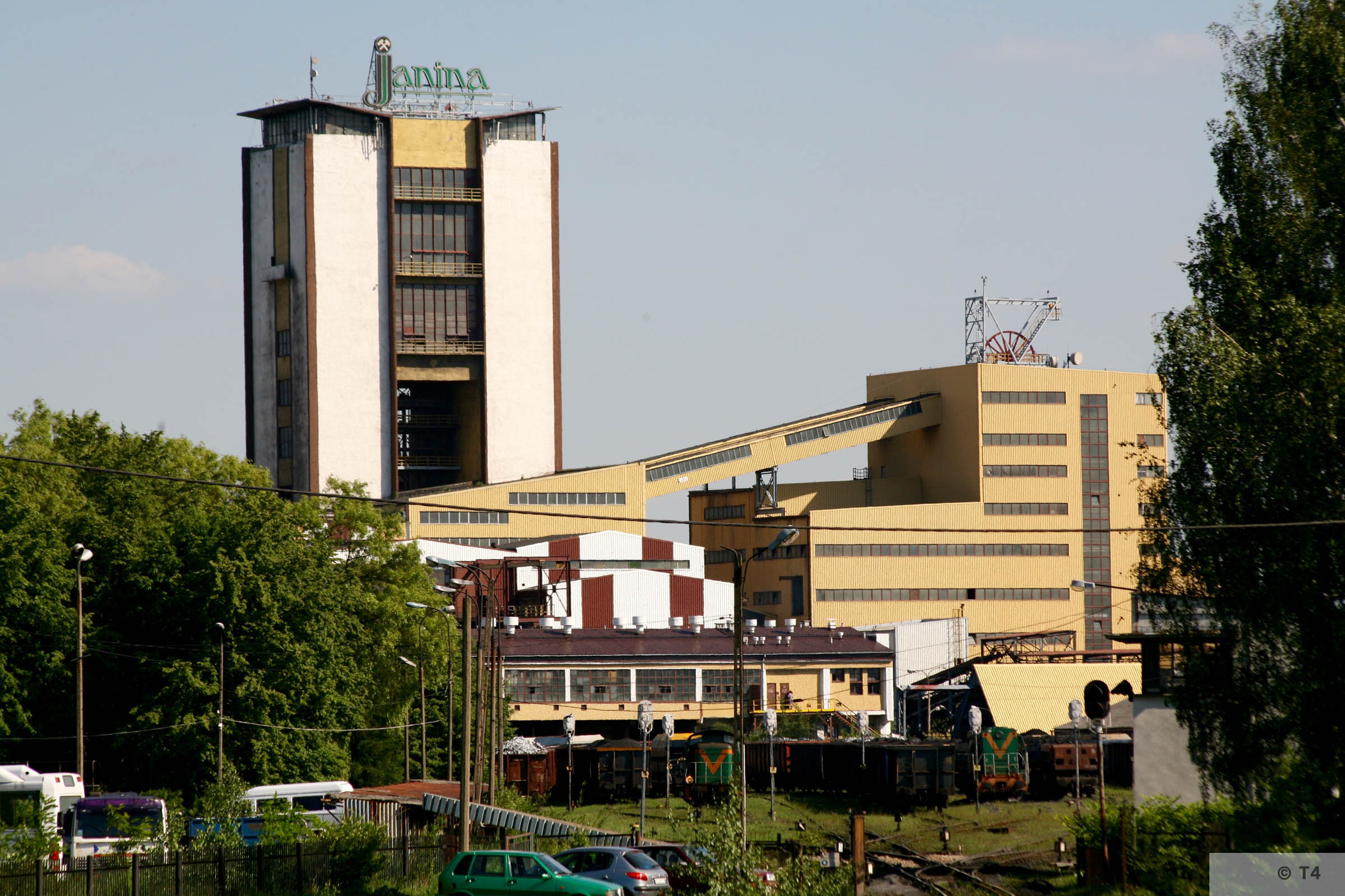 Janina mine 2006. T4 7926