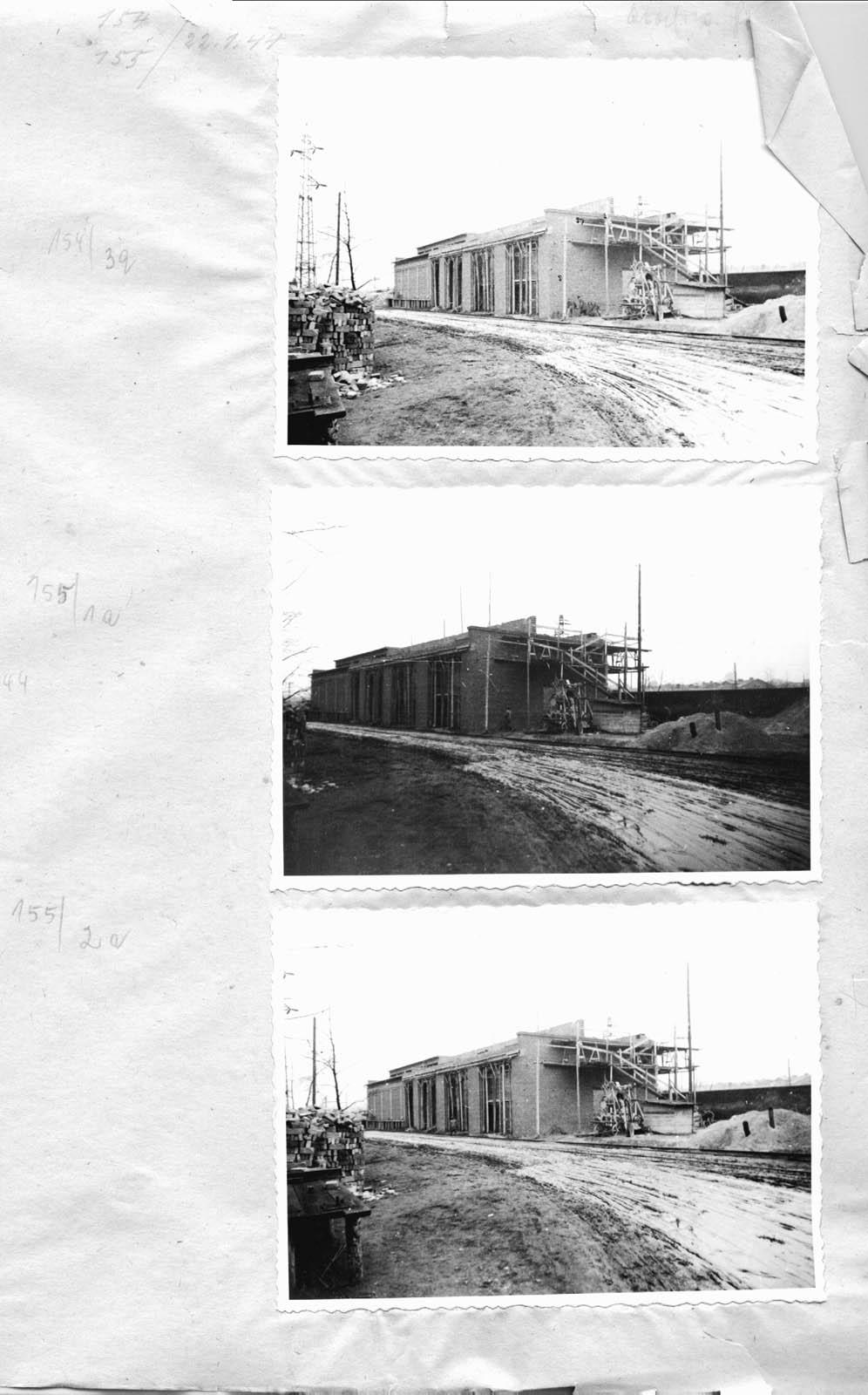 Jaworzno new construction. 1944 Muzeum w Jaworznie
