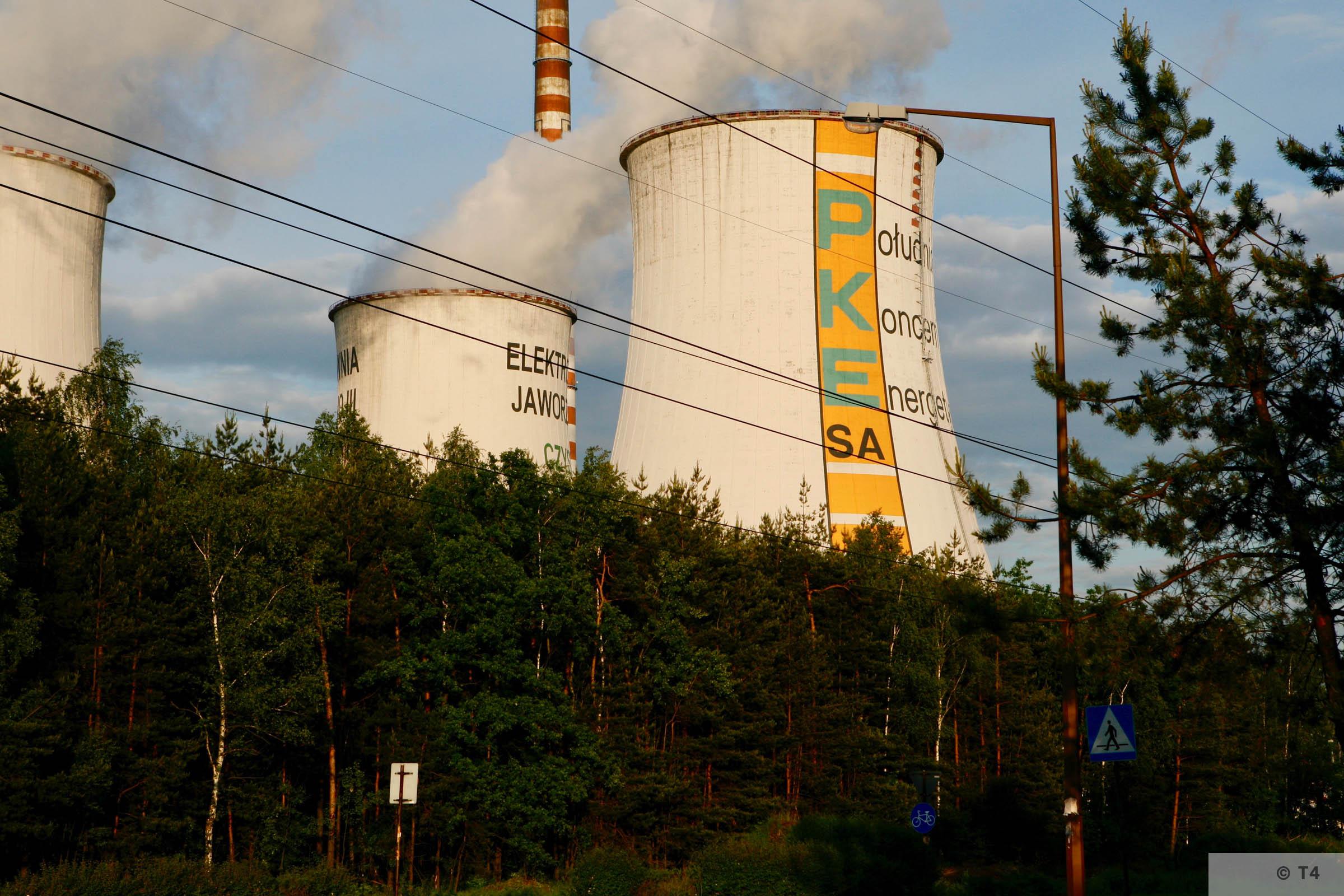 Jaworzno power station. 2007 T4 6436