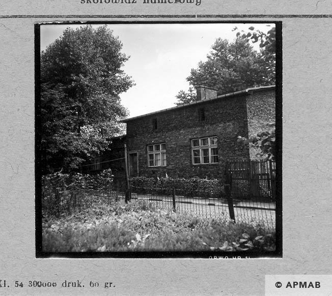 Kitchen block. 1967 APMAB 11033