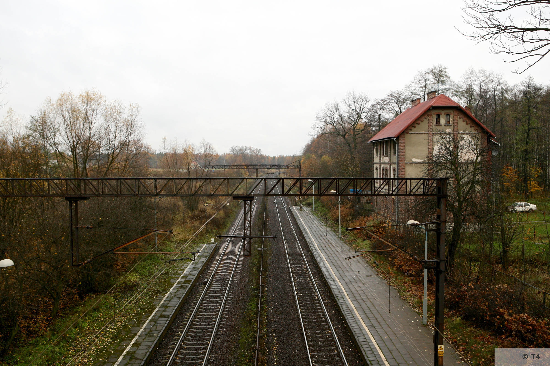 Kobior railway station. 2007 T4 3153