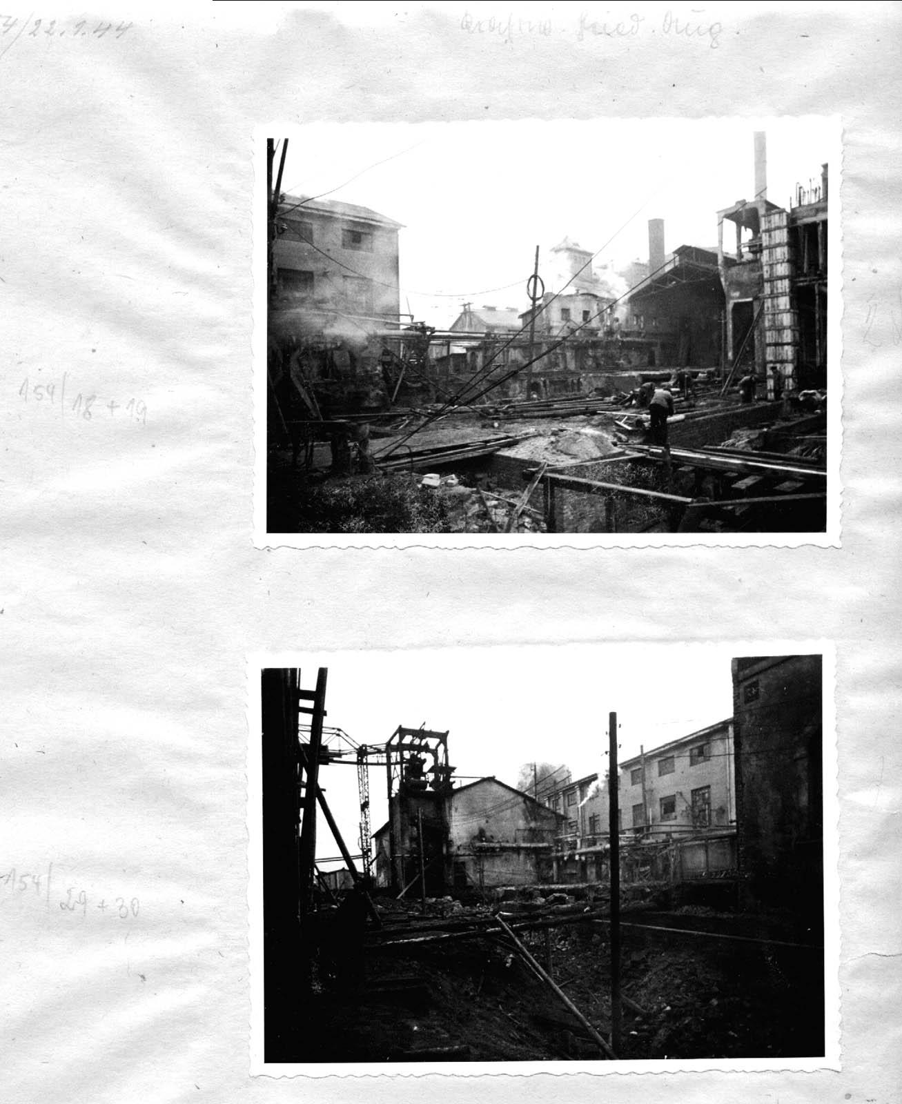 Kraftwerk Friedrich-August 11. 1944 Muzeum w Jaworznie