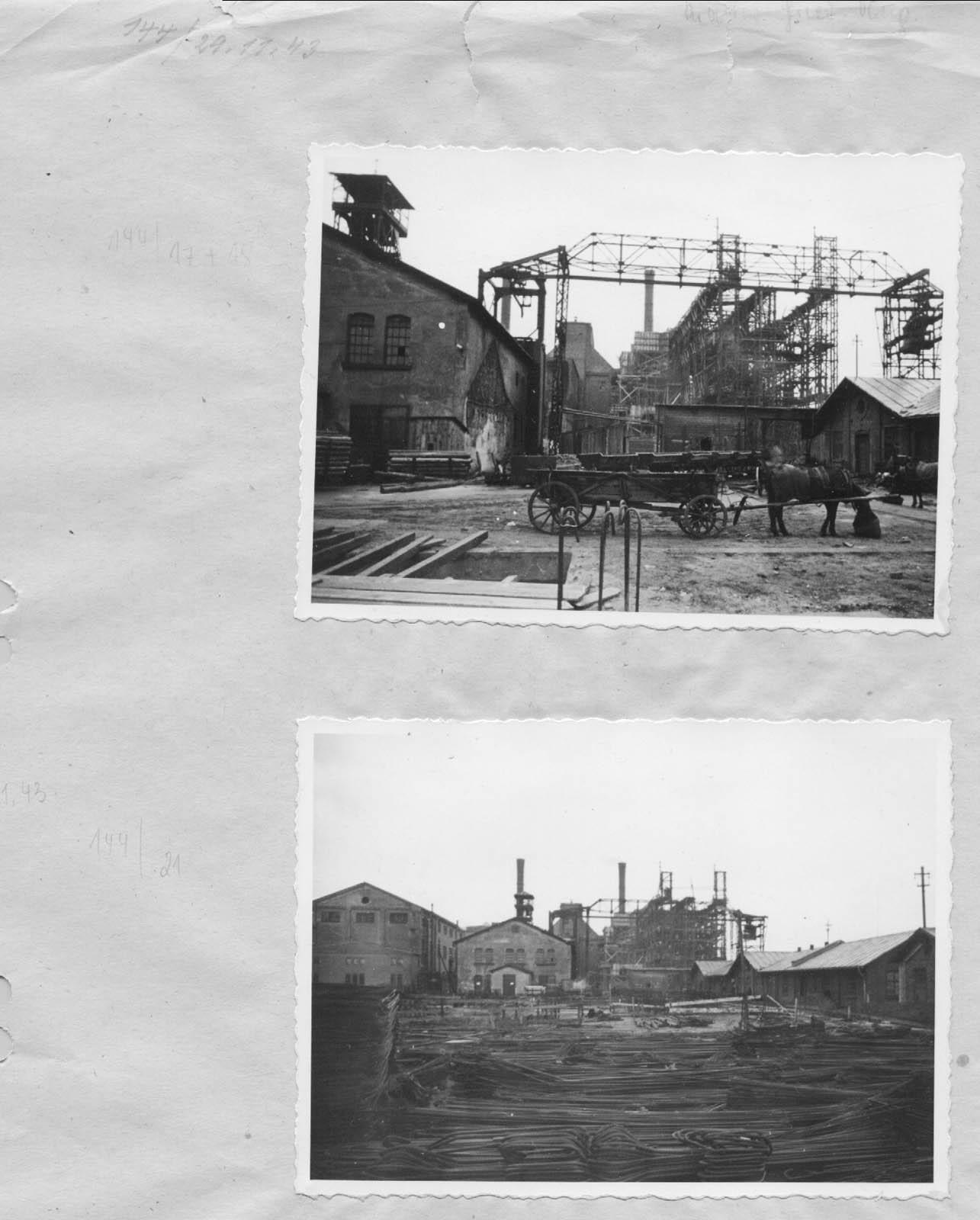 Kraftwerk Friedrich-August 3. 1943 Muzeum w Jaworznie