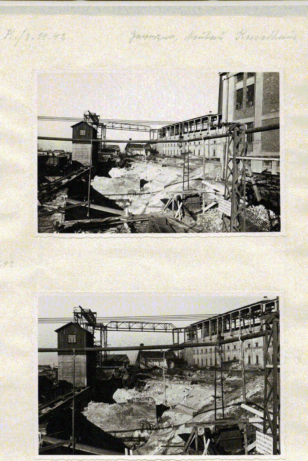 Kraftwerk Friedrich-August 4. 1942 Muzeum w Jaworznie