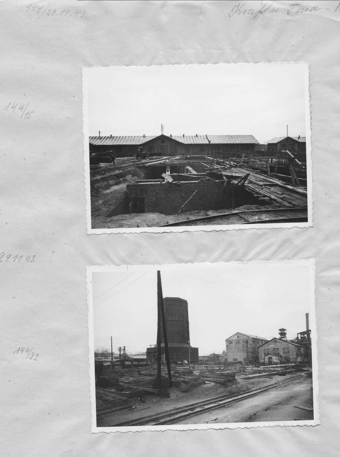 Kraftwerk Friedrich-August 5. 1943 Muzeum w Jaworznie