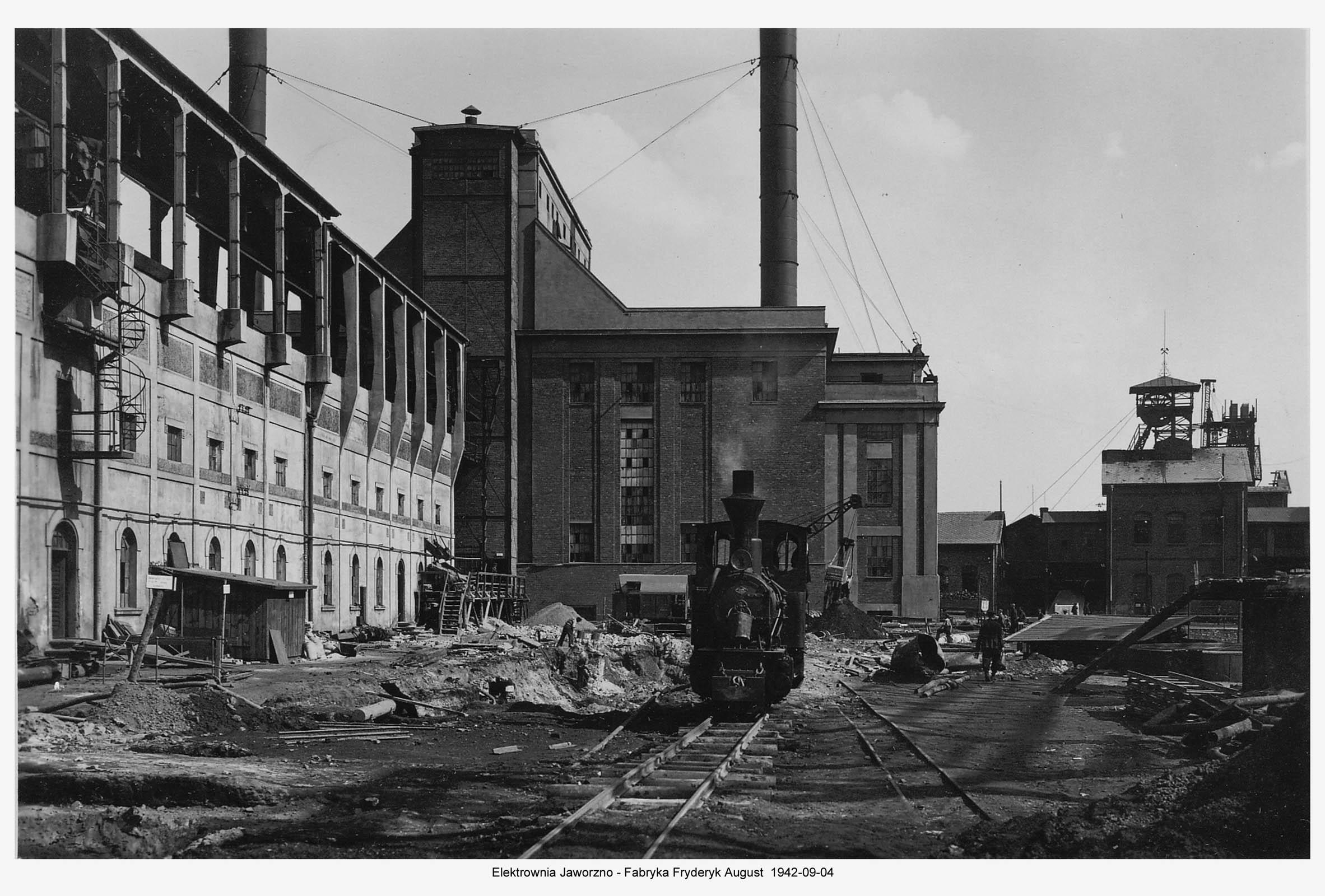 Kraftwerk Friedrich-August 6. 1942. Muzeum w Jaworznie