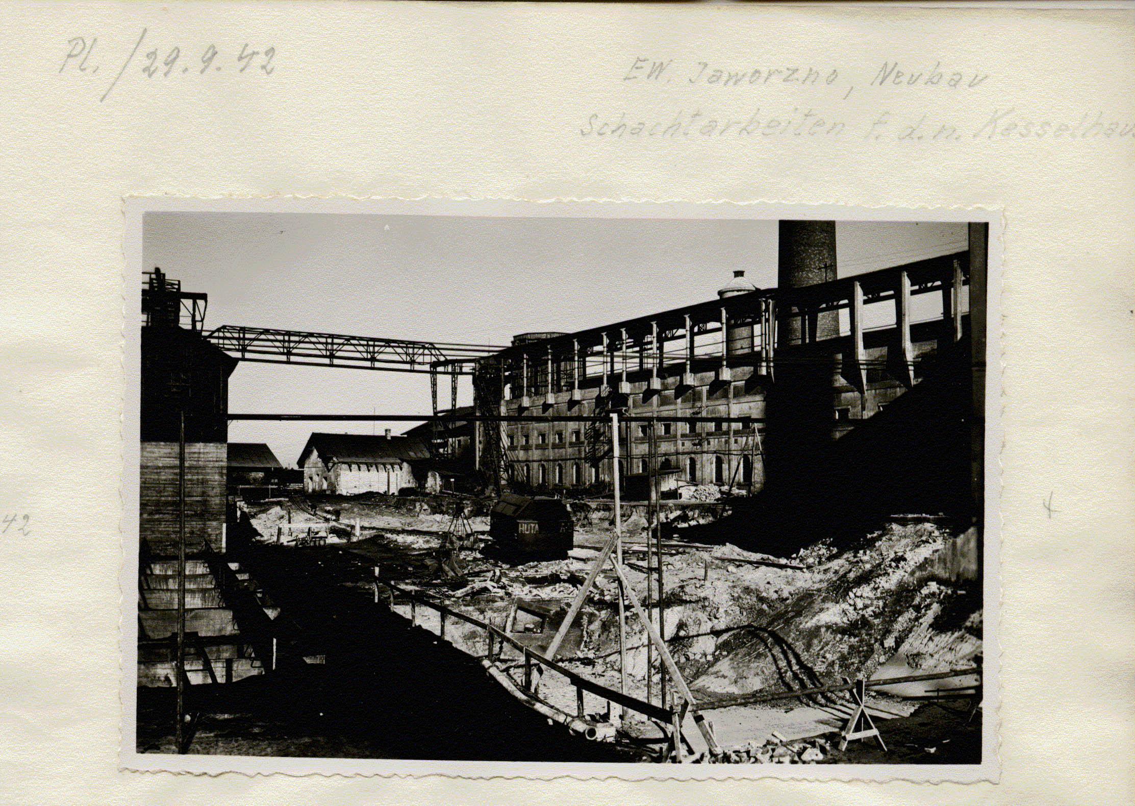 Kraftwerk Friedrich-August 7. 1942 Muzeum w Jaworznie