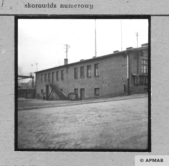 Main administrative building changed after the war. 1959 APMAB 4406