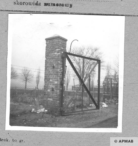 Main gate. 1959 APMAB 4411