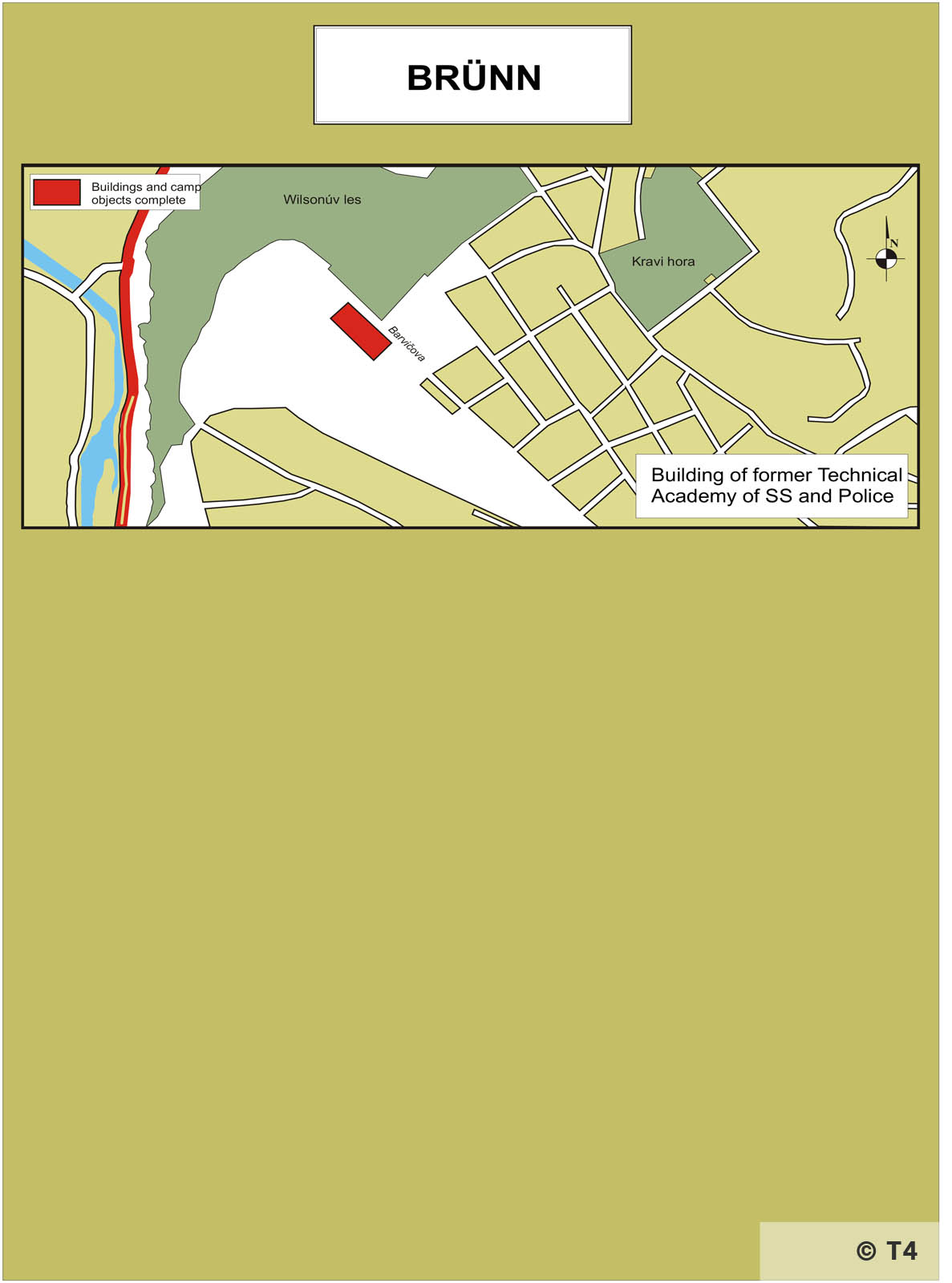 Map of Brünn. T4