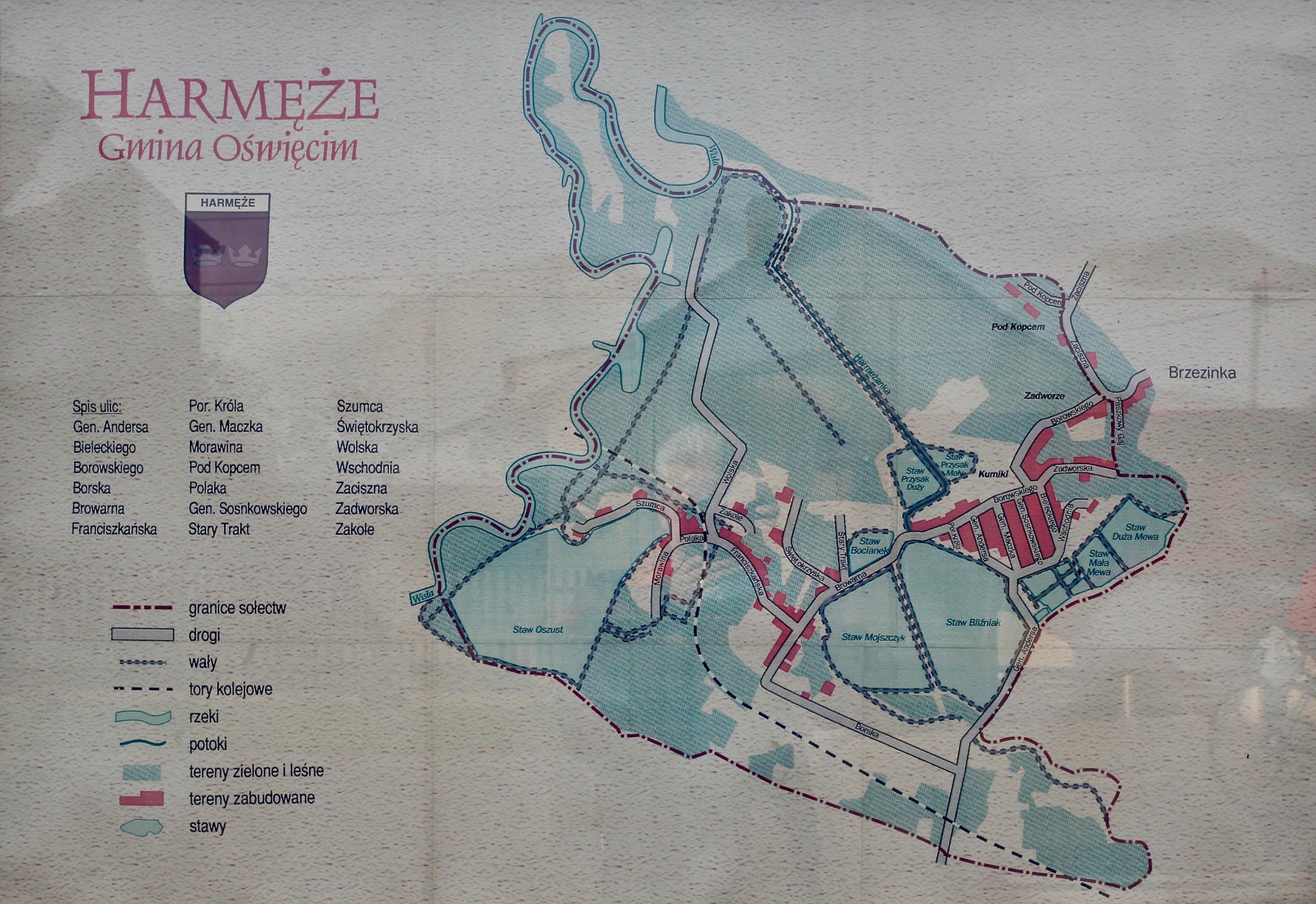 Map of Harmeze