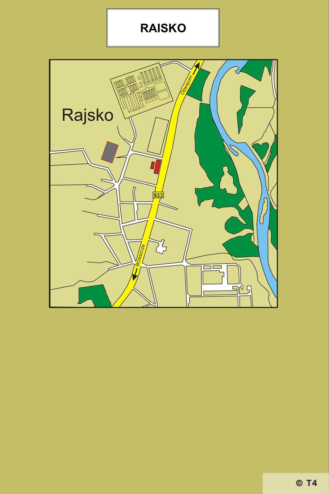 Map of Rajsko area.T4 jpeg
