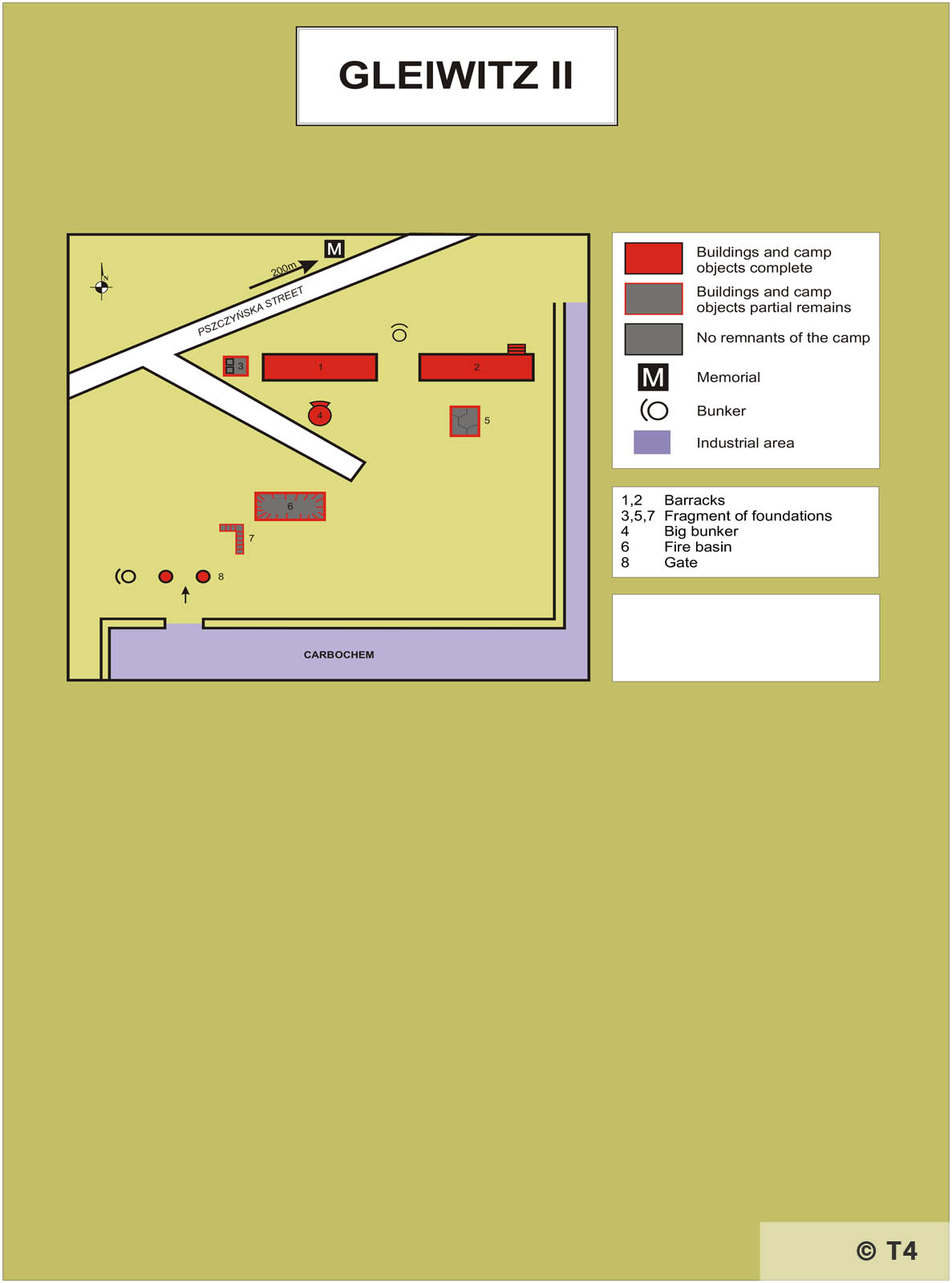 Map of SS Area. T4