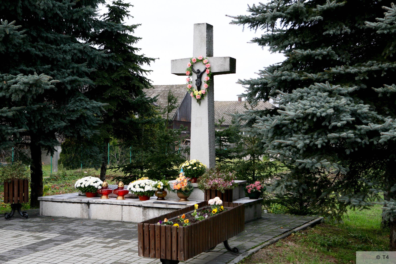 Memorial at ul Bartosza Głowackiego in Monowice. 2008 T4 3447