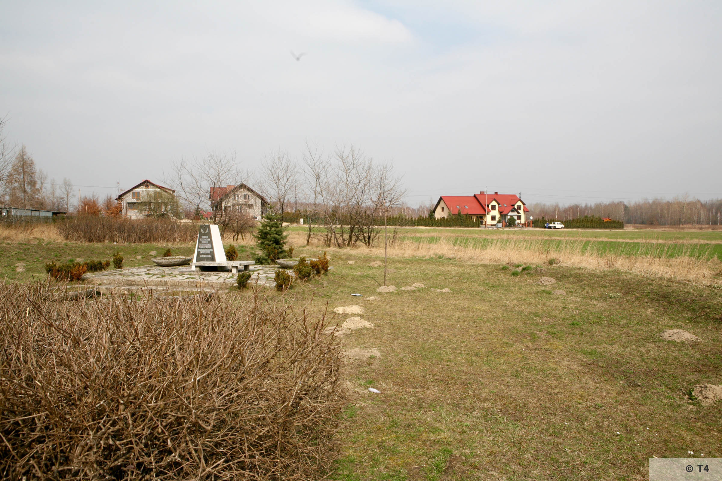 Memorial on the area of former Lager Heimat. 2006 T4 3307