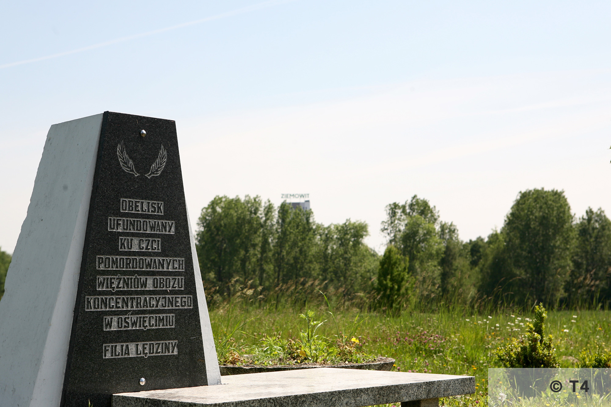 Memorial on the area of former Lager Heimat. 2006 T4 6945