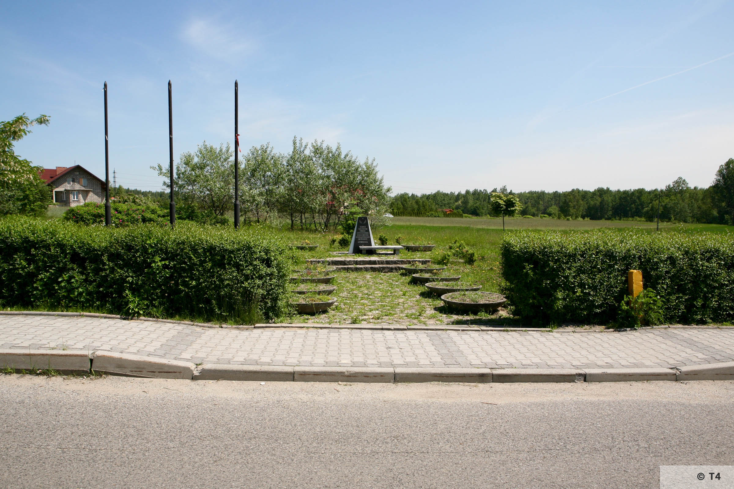 Memorial on the area of former Lager Heimat. 2006 T4 6950