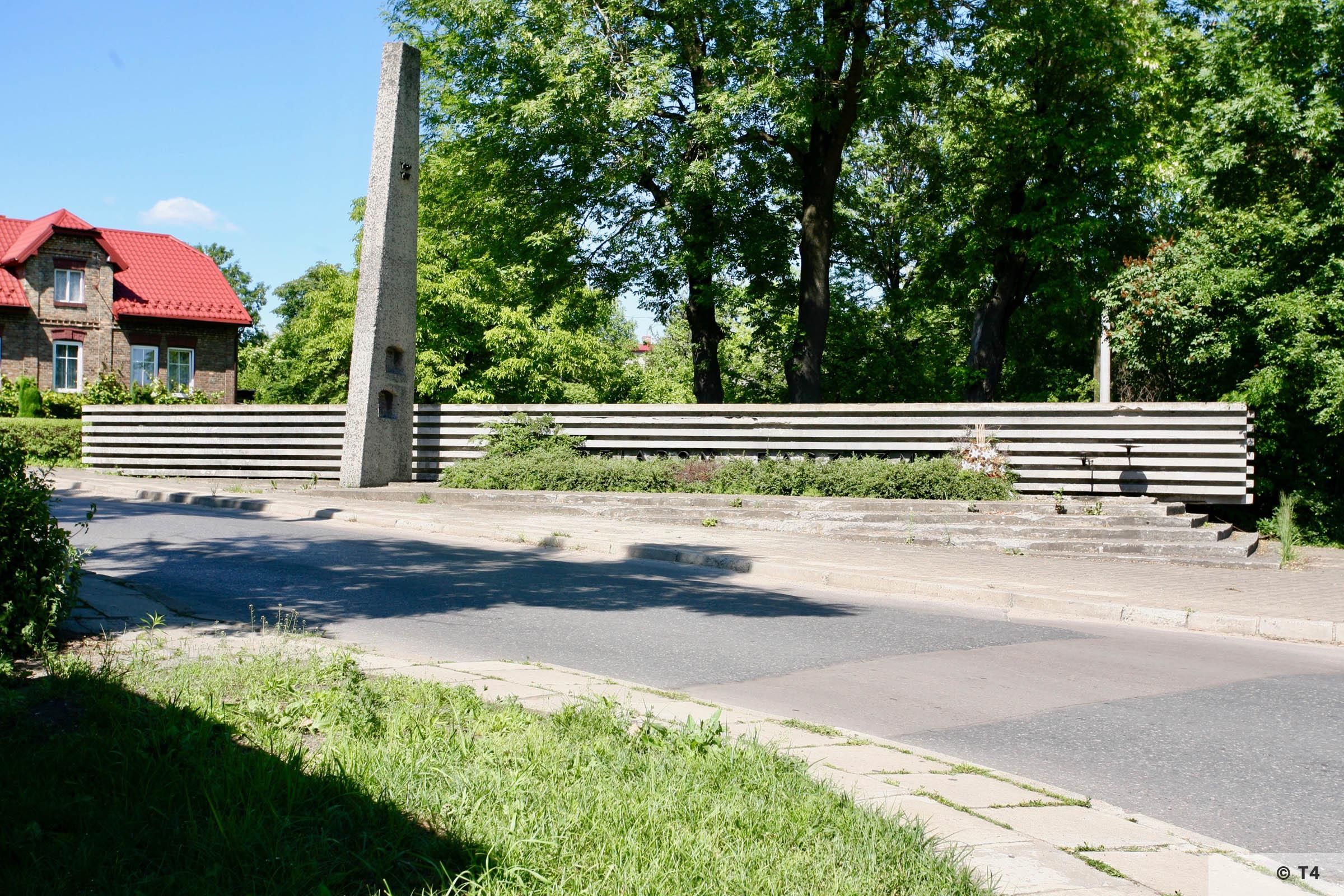 Memorial on ul Kruczkowskiego. 2006 T4 7892