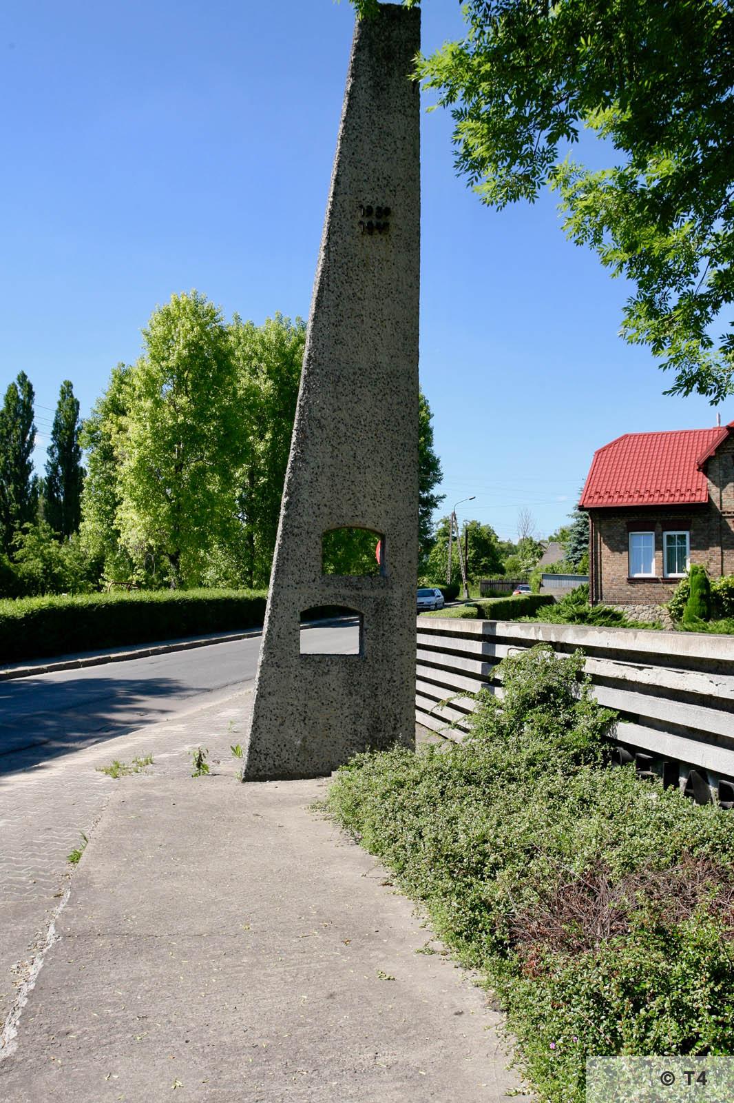 Memorial on ul Kruczkowskiego. 2006 T4 7894