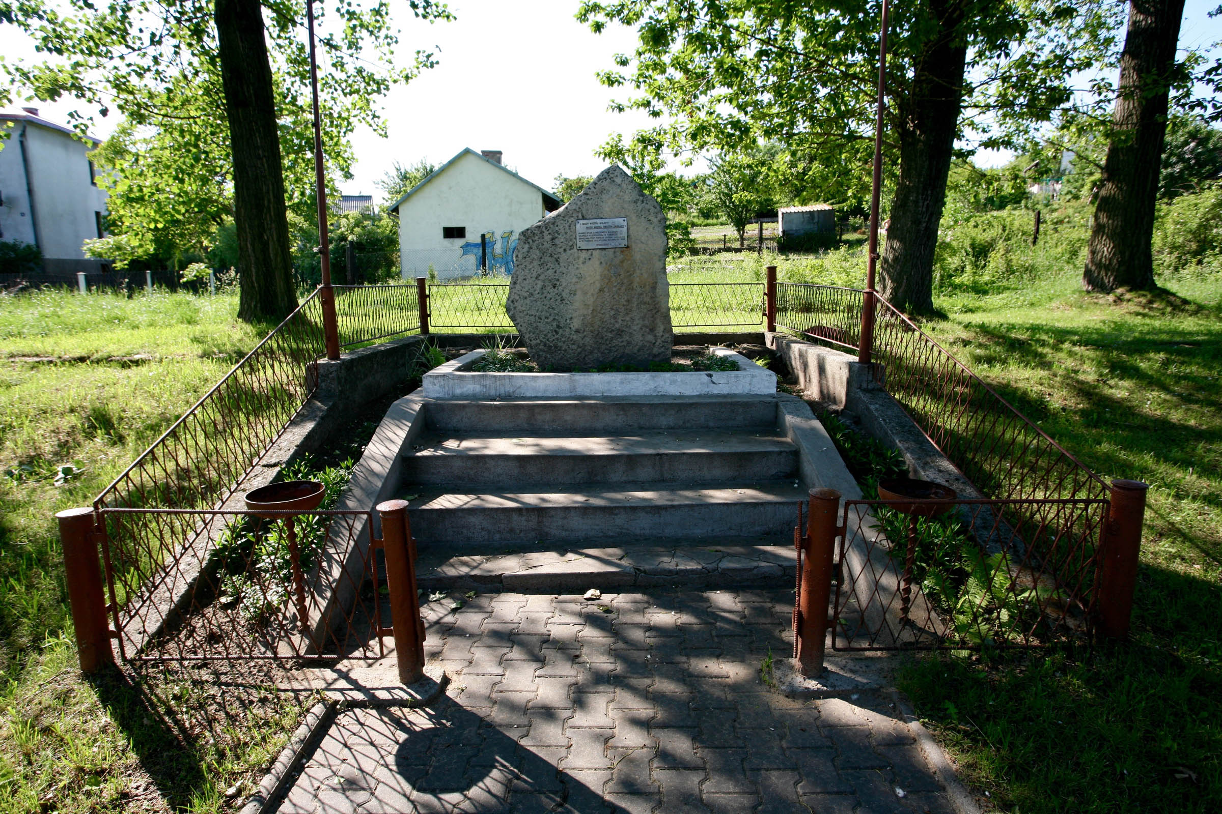 Memorial to the prisoners of the former sub camp Janinagrube 7935