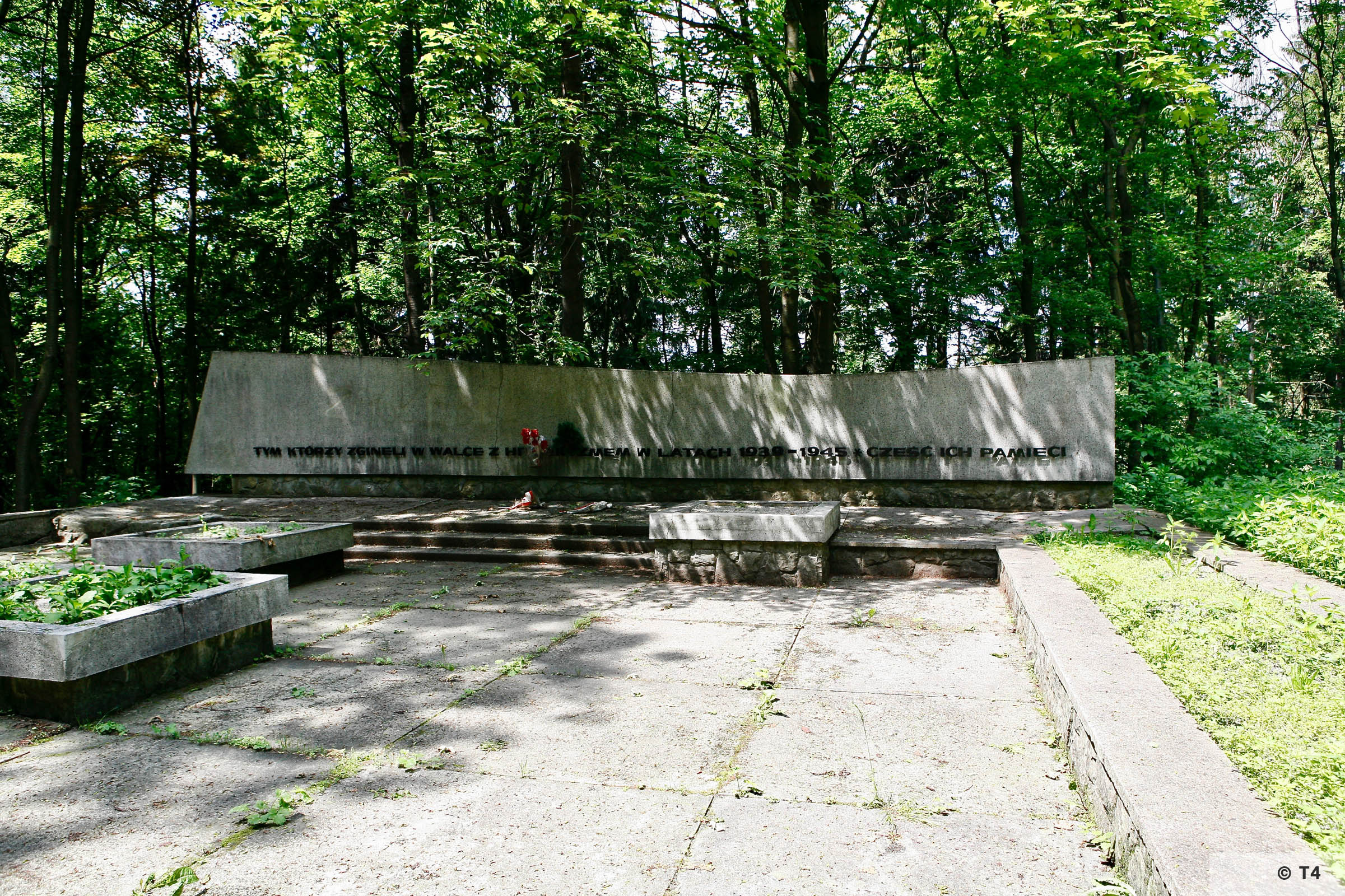 Memorial to victims of Nazi war crimes in Goleszow 1939-1945 2006 T4 6639