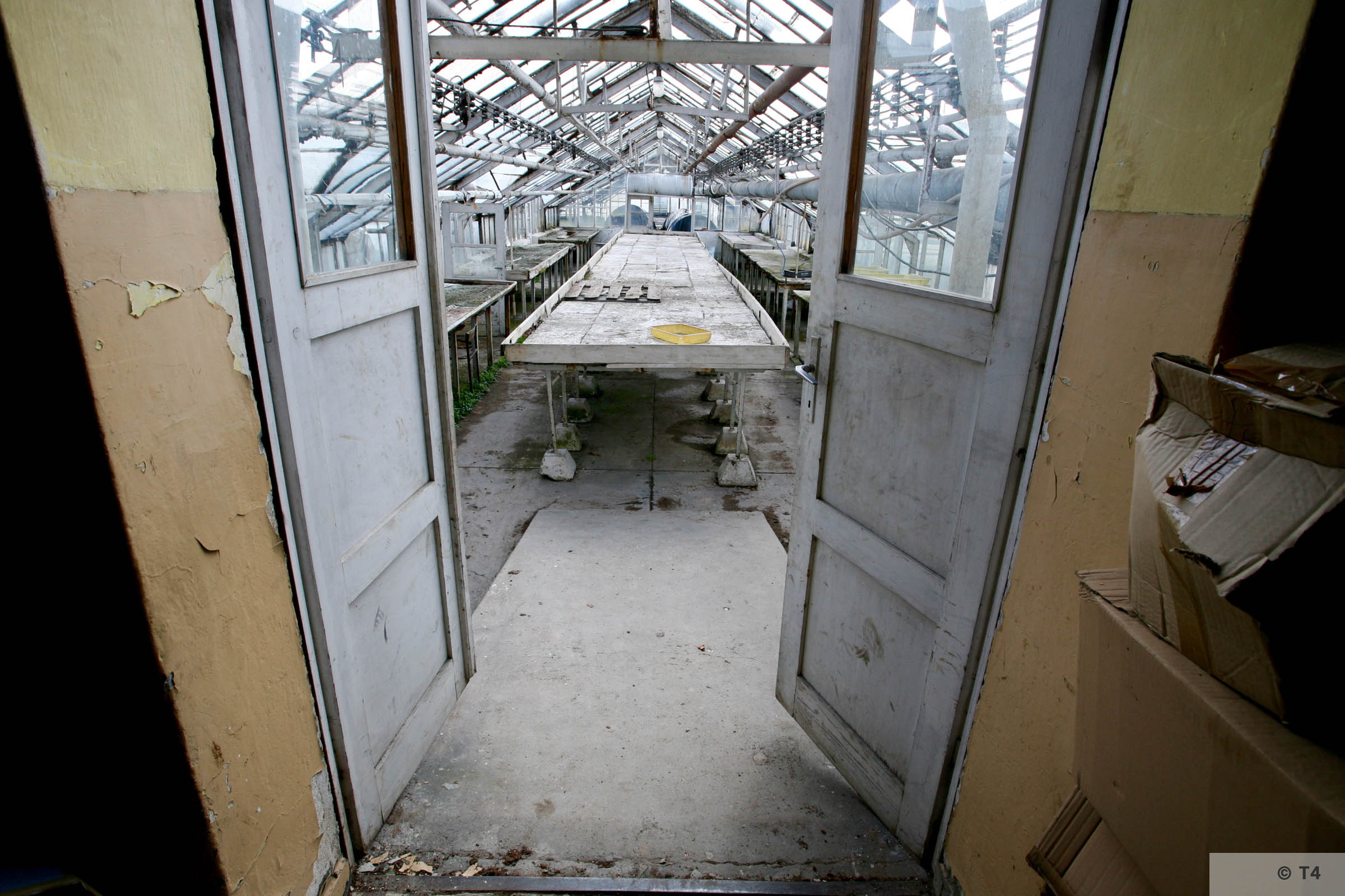 New Greenhouse attached to former horticultrual laboratory. 2006 T4 5124