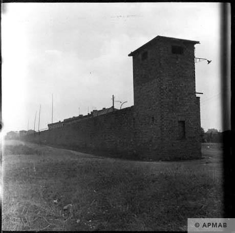 North guard tower. 1963 APMAB 5691