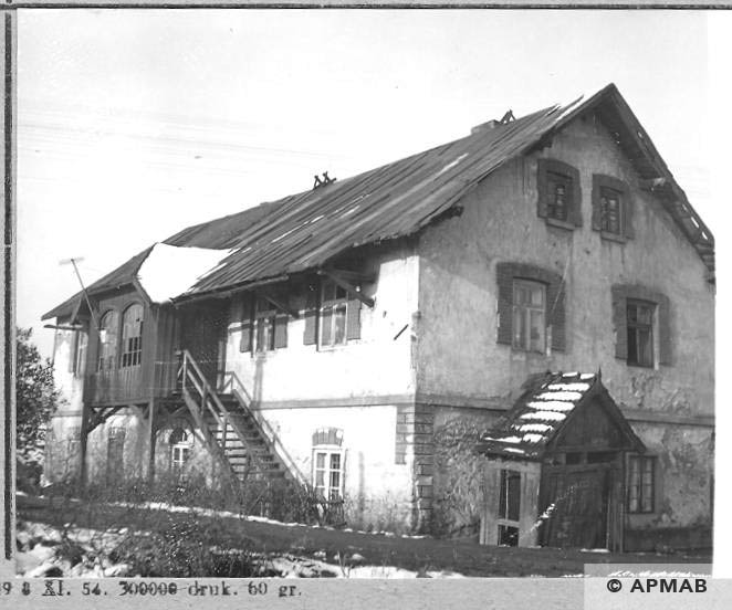Offices and flats for SS men. 1966 APMAB 10182