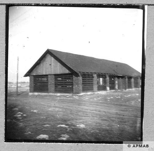 Old barn close to the sub camp. 1959 APMAB 4369